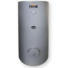 ECOGEO H-1 P 300 Vertikāla karstā ūdens uzglabāšanas tvertne siltumsūkņa izmantošanai ar vienu spirālveida siltummaiņi