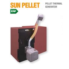 Sun Pellet 6 Komplekts (Granulu katls SFL 6 + SUN P12 N + Bunkurs 350L)