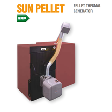Sun Pellet 4 Komplekts (Granulu katls SFL 4 + SUN P7 N + Bunkurs 195L)