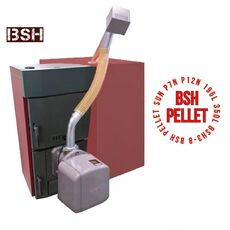 BSHPellet 8 Komplekts Granulu katls BSH 8 + SUN P12 N + Bunkurs 350L