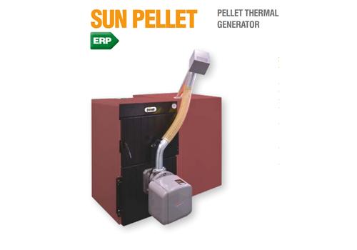 Sun Pellet 3 Komplekts (Granulu katls SFL 3 + SUN P7 N + Bunkurs 195L)